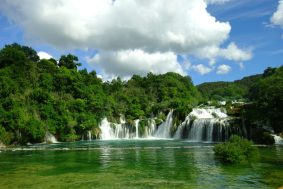 Waterfall, Krka