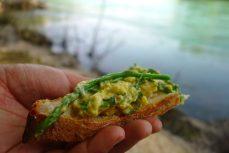 Fritaja, omelette aux asperges sauvages, spécialité croate