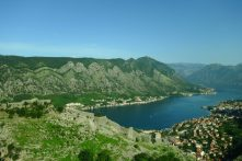 La muraille de Kotor