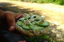 Pita tartinée