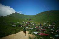 Taşköprü, dans les terres derrière Trabzon