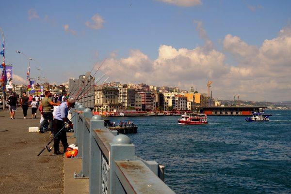 Istanbul, Pont Galata Kösprüsü