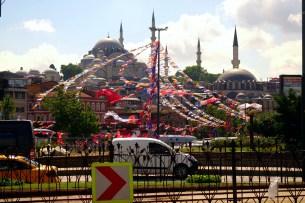 Istanbul animée par les élections présidentielles