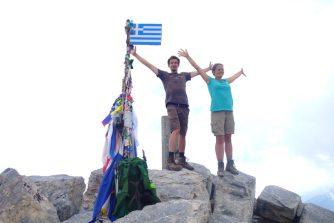 Mitykas, sommet de la Grèce, 2918 m