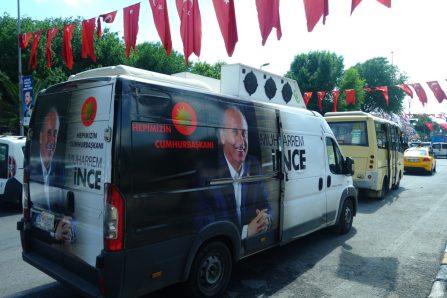 Autostop au coeur d'Istanbul