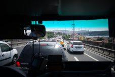 Traversée du Bosphore, la police nous a jeté dans un bus