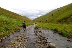 La rivière occupe la route