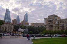 Flame tower, Baku