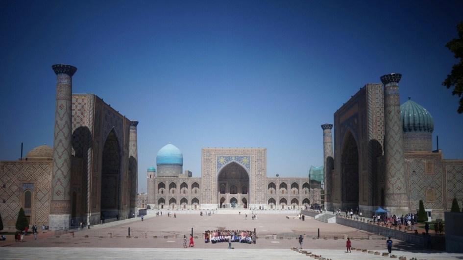 Registan, Samarcande, Ouzbékistan
