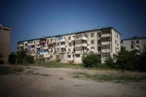 Turkmenabat, vieux quartiers