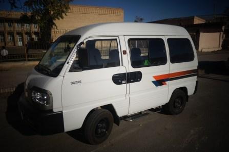 Un minibus Ouzbek