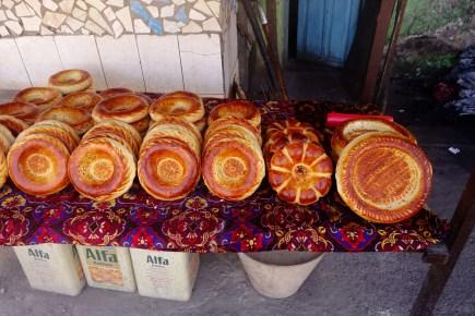 Délicieux pains kirghizes