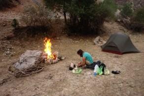 Soirée au coin du feu