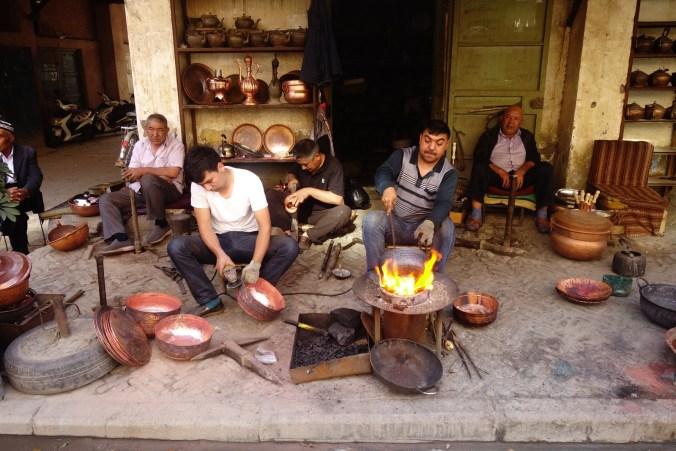 Dans les rues de Kashgar