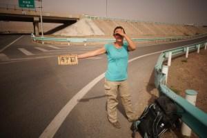 Autostop sur l'autoroute