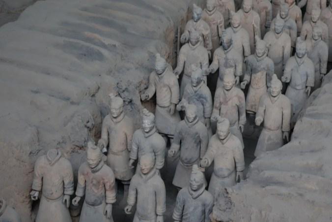 Les soldats de terre - Xi'an