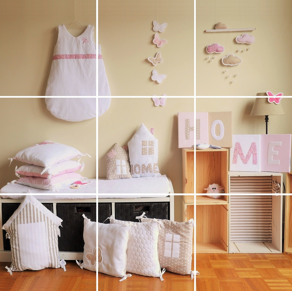 Latest deco chambre bebe fille rose et blanc with photos chambre bb fille - Photos chambre bebe fille ...