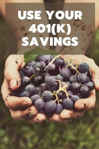 Hands with a bounty of blueberries suggesting harvest of retirement savings