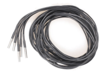 Image of pre-wired, stainless steel-encased, DS18B20 temperature sensors