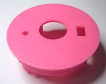 Image of the 3D-printed enclosure for the doorbell alert light device