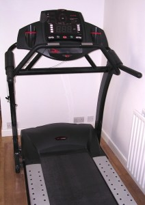 Photograph of the Smooth Fitness Evo 3I treadmill