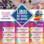 Libri nei vicoli del borgo - estate 2016