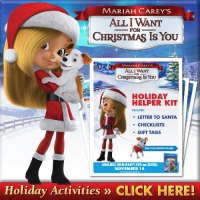 Holiday Favorites: Mariah Carey's All I Want for Christmas Giveaway Ends November 22nd! #Giveaway #AllIWantForChristmas