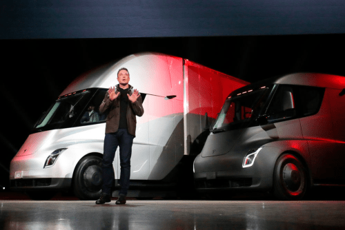 Electric Semi-Truck - Tesla