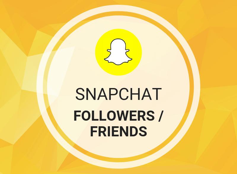 Snapchat Followers/Friends