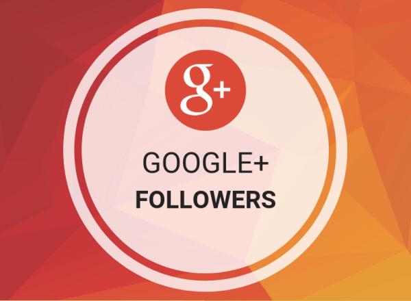 Buy Google+ Followers