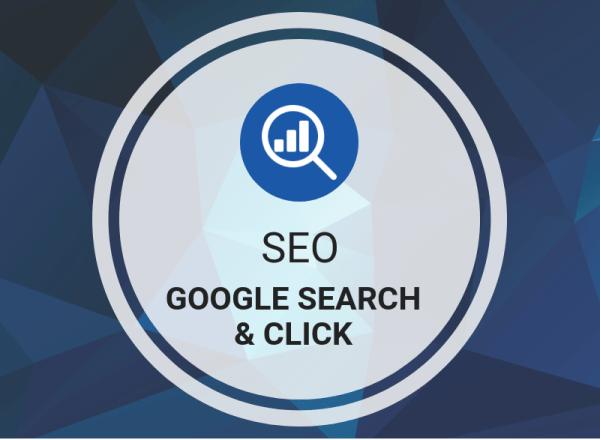 Buy SEO Google Search & Click