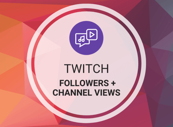 Buy Twitch Followers + Views (Channel)