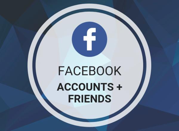 Buy Facebook Accounts + Friends