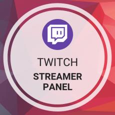Buy Twitch Streamer Panel