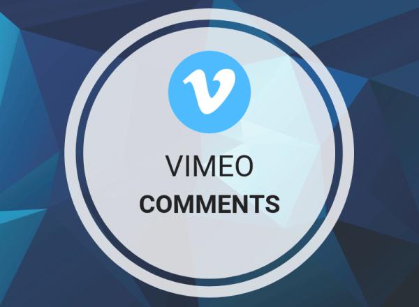 Buy Vimeo Comments
