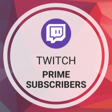 Buy Twitch Prime Subscribers