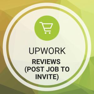Buy Upwork Reviews (Post Job To Invite)