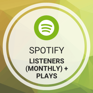 Buy Spotify Listeners (Monthly) + Plays (Streams)