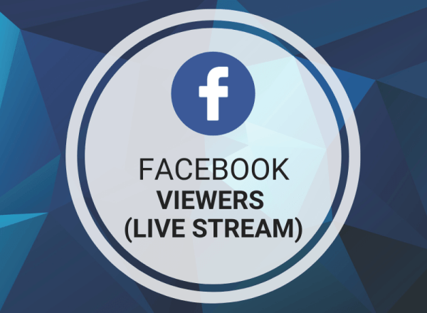 Buy Facebook Viewers (Live Stream)