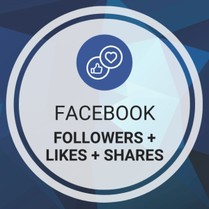 Buy Facebook Followers + Likes + Shares