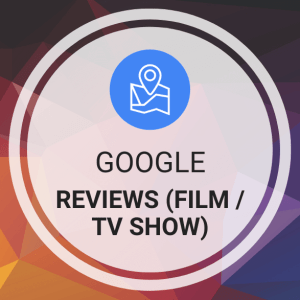 Buy Google Reviews (Film / TV Show)