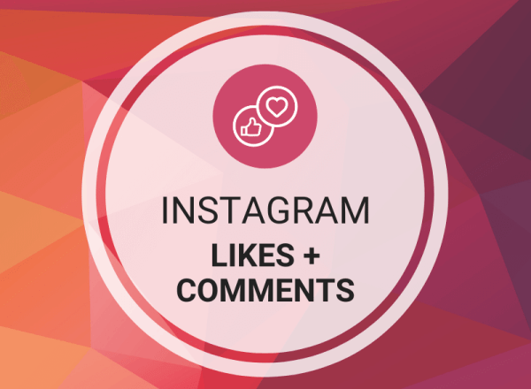 Buy Instagram Likes + Comments