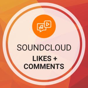 Buy SoundCloud Likes + Comments
