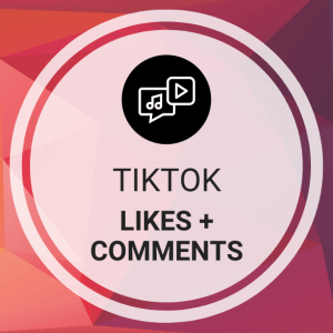 Buy TikTok Likes + Comments
