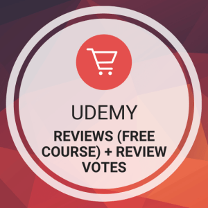 Buy Udemy Reviews (Free Course) + Review Votes