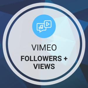Buy Vimeo Followers + Views