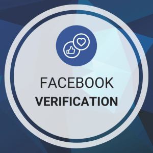 Buy Facebook Verification (Blue Verified Badge)