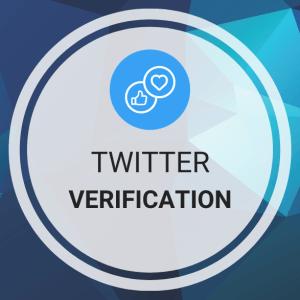 Buy Twitter Verification (Blue Verified Badge)