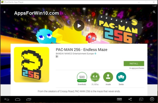 Pac_Man 256 Endless maze for PC 1