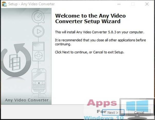 Any Video Converter for Windows 10